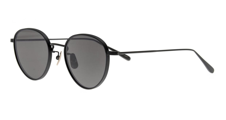 Oh My Glasses TOKYO Lester omg-107-MBK-49-sun [メタル/鯖江産/ボストン]  1