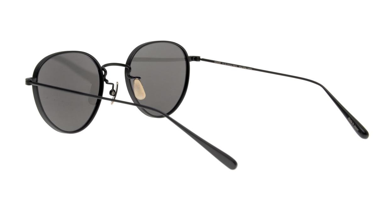 Oh My Glasses TOKYO Lester omg-107-MBK-49-sun [メタル/鯖江産/ボストン]  3