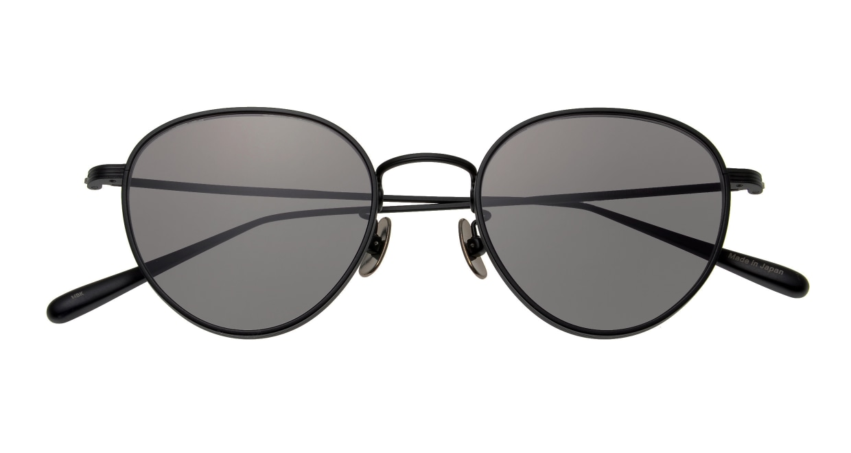 Oh My Glasses TOKYO Lester omg-107-MBK-49-sun [メタル/鯖江産/ボストン]  4