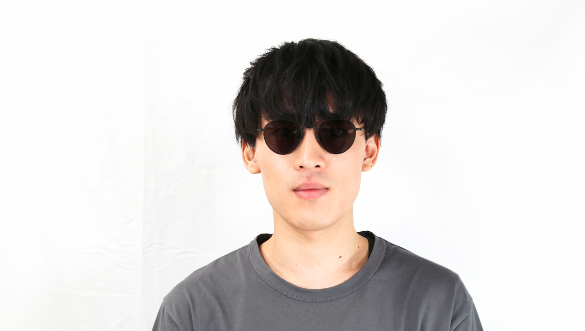 seem Oh My Glasses TOKYO Lester omg-107-MBK-49-sun [メタル/鯖江産/ボストン]  5