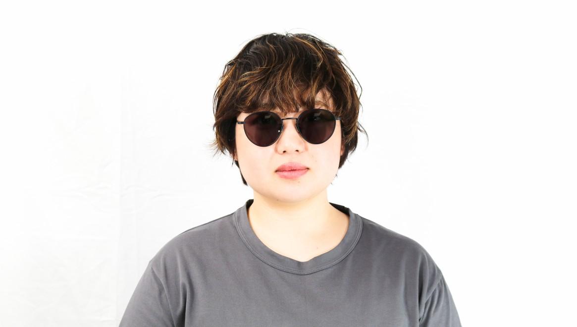 seem Oh My Glasses TOKYO Lester omg-107-MBK-49-sun [メタル/鯖江産/ボストン]  7