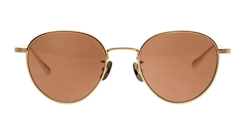 Oh My Glasses TOKYO Lester omg-107-GD-49-sun [メタル/鯖江産/ボストン]