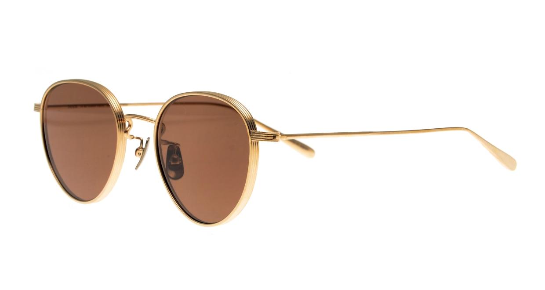 Oh My Glasses TOKYO Lester omg-107-GD-49-sun [メタル/鯖江産/ボストン]  1