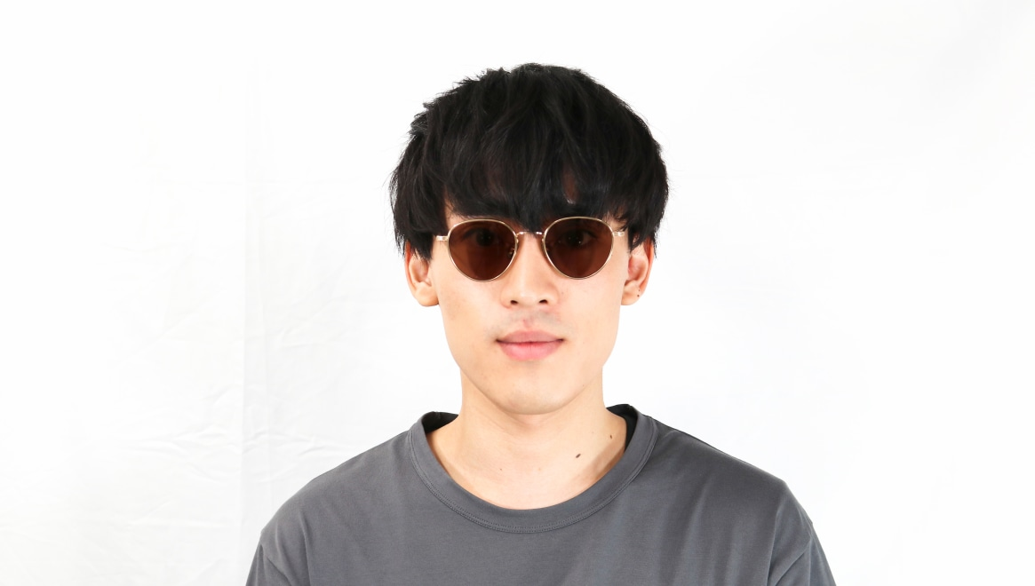 seem Oh My Glasses TOKYO Lester omg-107-GD-49-sun [メタル/鯖江産/ボストン]  5