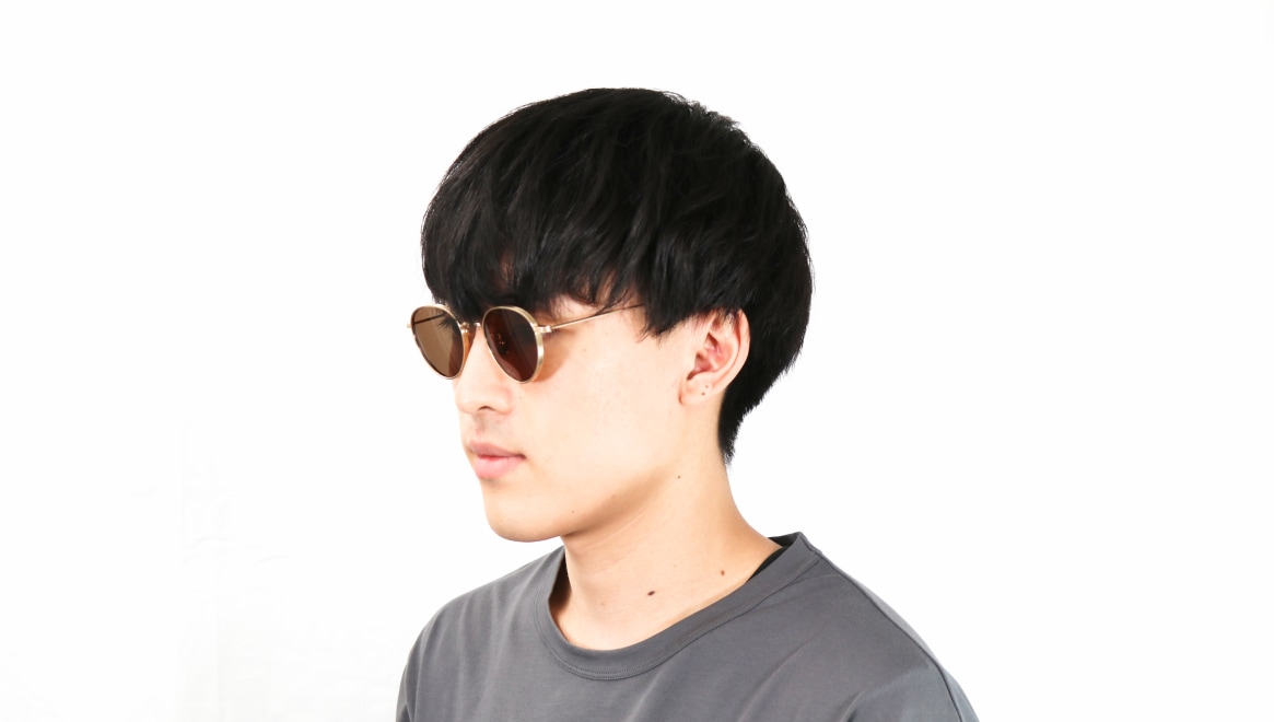 seem Oh My Glasses TOKYO Lester omg-107-GD-49-sun [メタル/鯖江産/ボストン]  6