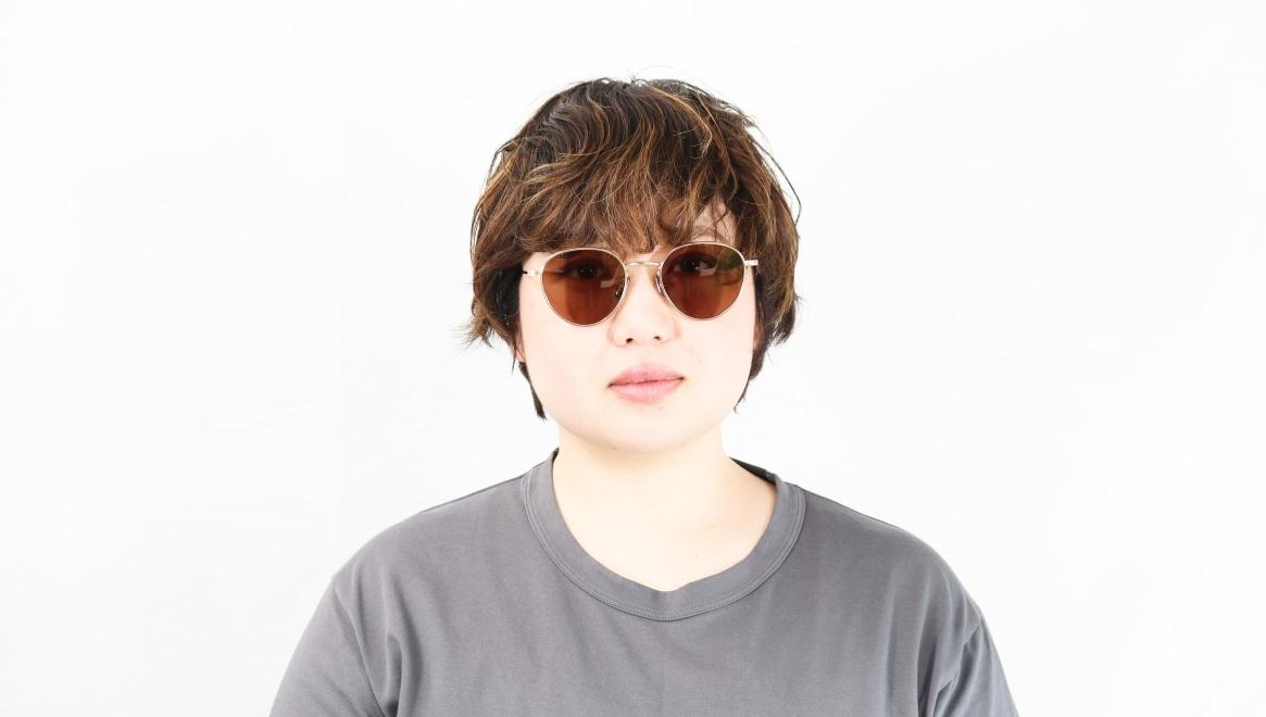 seem Oh My Glasses TOKYO Lester omg-107-GD-49-sun [メタル/鯖江産/ボストン]  7