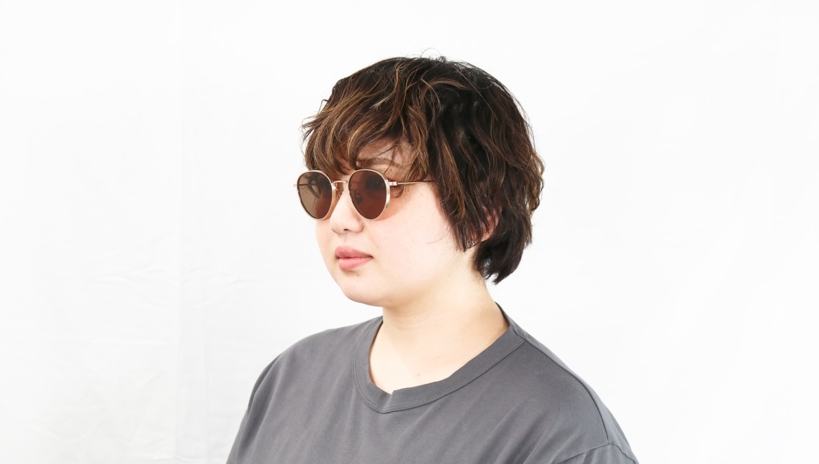 seem Oh My Glasses TOKYO Lester omg-107-GD-49-sun [メタル/鯖江産/ボストン]  8