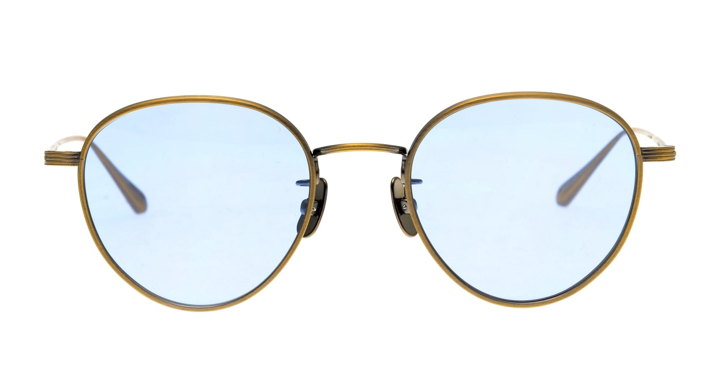 Oh My Glasses TOKYO Lester omg-107-ATG-49-sun [メタル/鯖江産/ボストン]