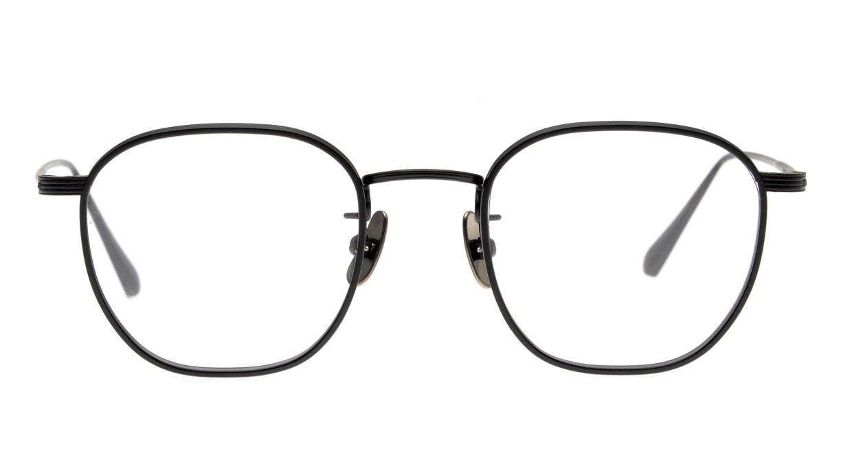 Oh My Glasses TOKYO Clifford omg-108-MBK-46 [メタル/日本製・鯖江産/ウェリントン]