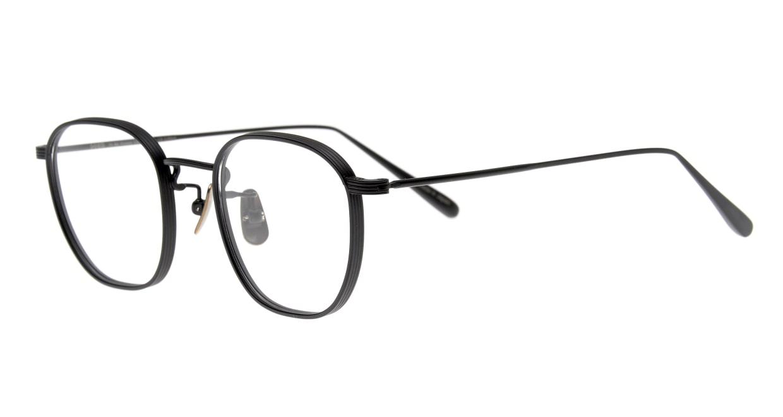 Oh My Glasses TOKYO Clifford omg-108-MBK-46 [メタル/日本製・鯖江産/ウェリントン]  1