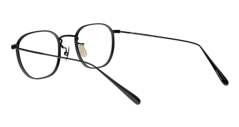 Oh My Glasses TOKYO Clifford omg-108-MBK-46 [メタル/日本製・鯖江産/ウェリントン]  3
