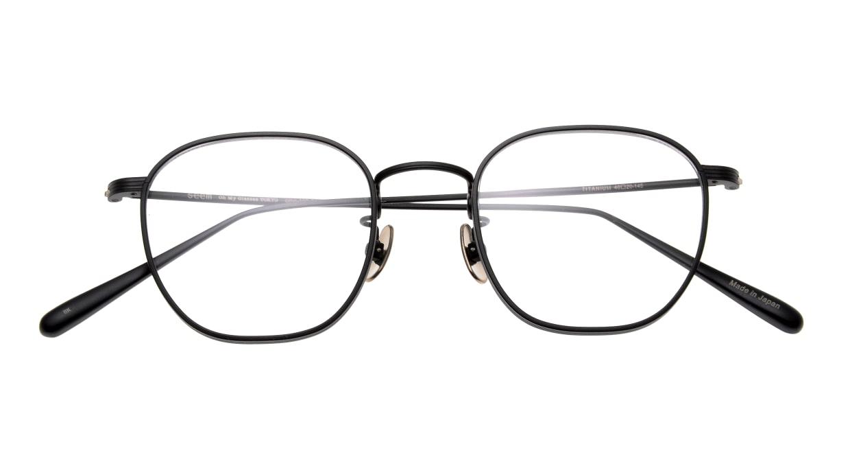 Oh My Glasses TOKYO Clifford omg-108-MBK-46 [メタル/日本製・鯖江産/ウェリントン]  4