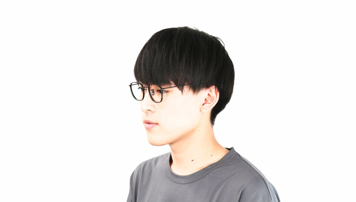 seem Oh My Glasses TOKYO Clifford omg-108-MBK-46 [メタル/鯖江産/ウェリントン]  6
