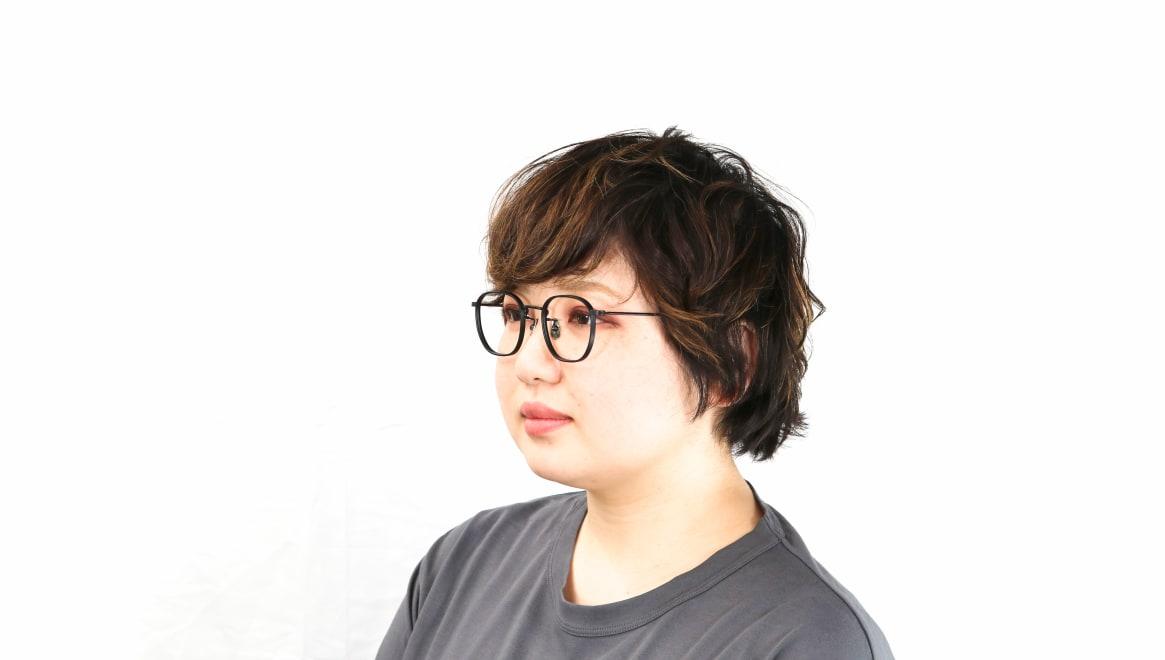 seem Oh My Glasses TOKYO Clifford omg-108-MBK-46 [メタル/鯖江産/ウェリントン]  8