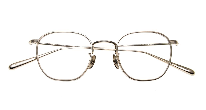 Oh My Glasses TOKYO Clifford omg-108-SV-46 [メタル/鯖江産/ウェリントン/シルバー]  4