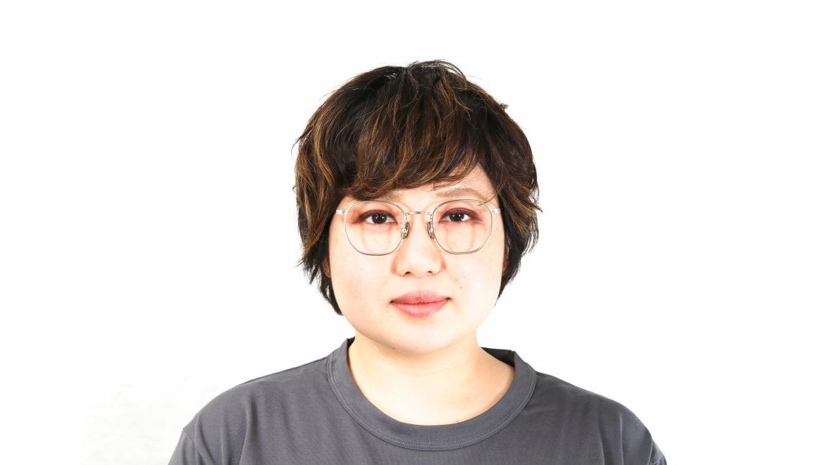 seem Oh My Glasses TOKYO Clifford omg-108-SV-46 [メタル/鯖江産/ウェリントン/シルバー]  7