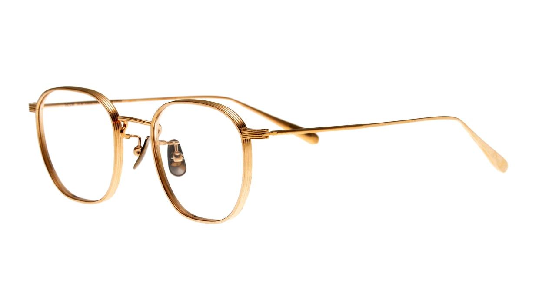 seem Oh My Glasses TOKYO Clifford omg-108-GD-46 [メタル/鯖江産/ウェリントン/ゴールド]  1