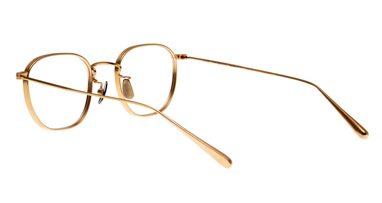 seem Oh My Glasses TOKYO Clifford omg-108-GD-46 [メタル/鯖江産/ウェリントン/ゴールド]  3