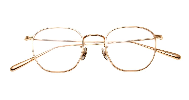 seem Oh My Glasses TOKYO Clifford omg-108-GD-46 [メタル/鯖江産/ウェリントン/ゴールド]  4