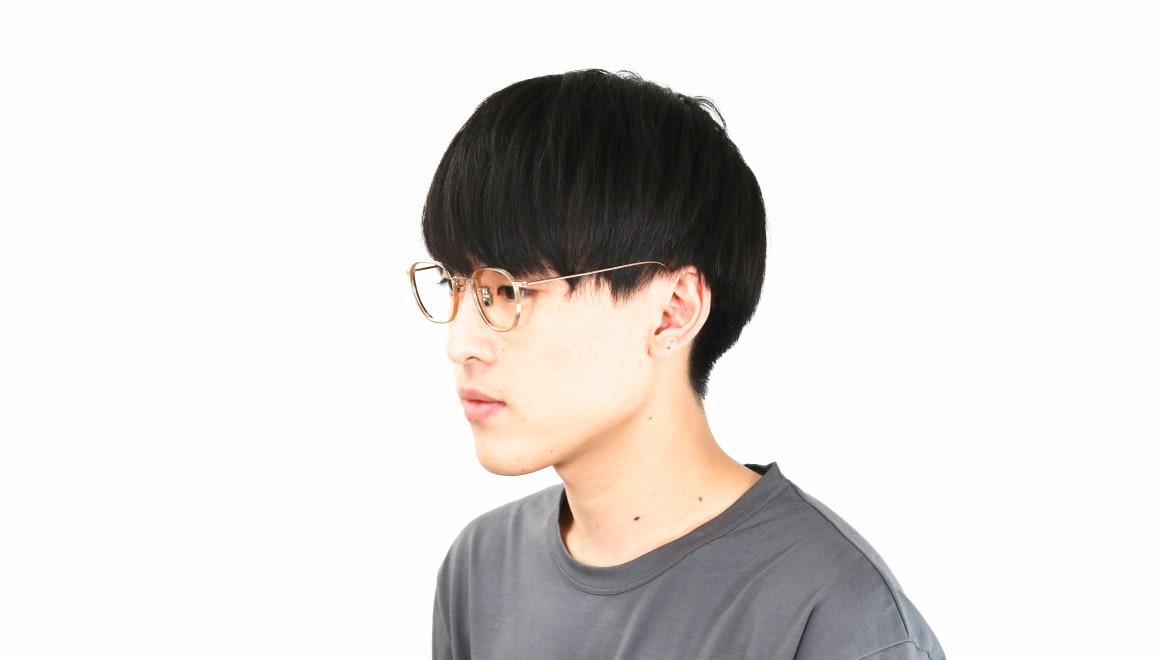 seem Oh My Glasses TOKYO Clifford omg-108-GD-46 [メタル/鯖江産/ウェリントン/ゴールド]  6