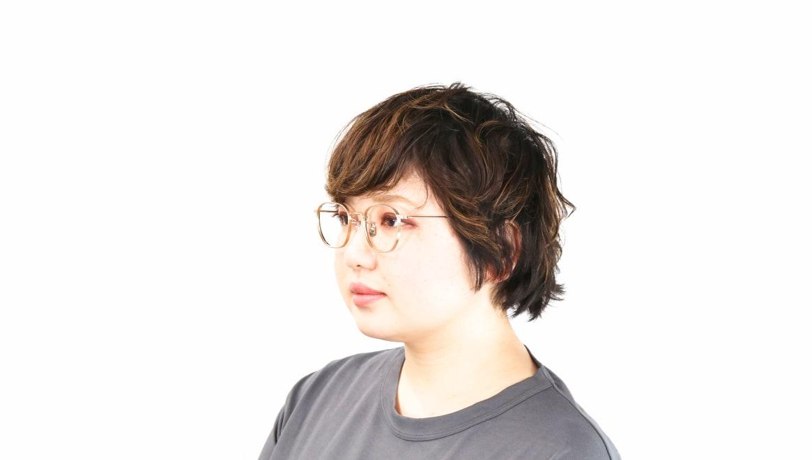 seem Oh My Glasses TOKYO Clifford omg-108-GD-46 [メタル/鯖江産/ウェリントン/ゴールド]  8