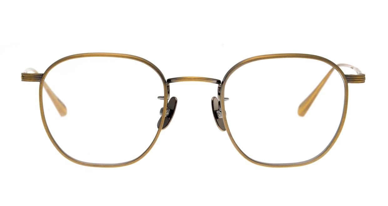 Oh My Glasses TOKYO Clifford omg-108-ATG-46 [メタル/鯖江産/ウェリントン/ゴールド]