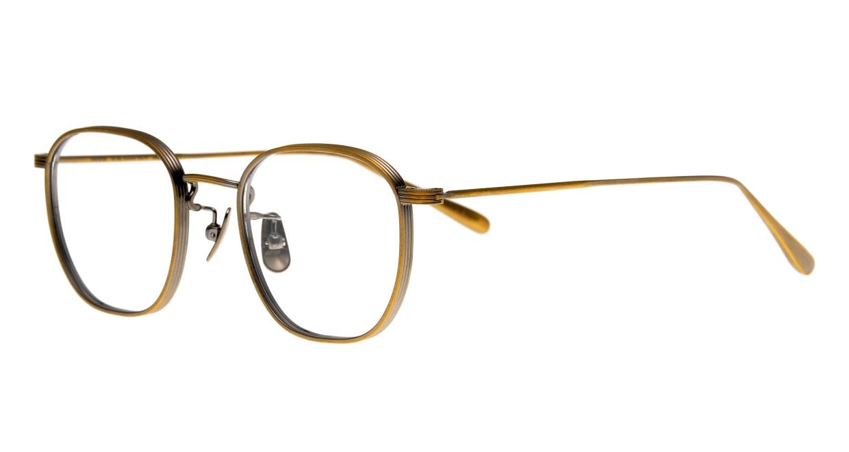 Oh My Glasses TOKYO Clifford omg-108-ATG-46 [メタル/鯖江産/ウェリントン/ゴールド]  1