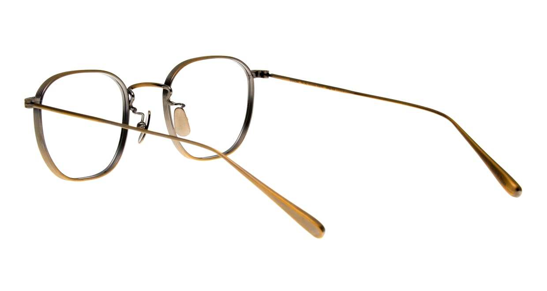 seem Oh My Glasses TOKYO Clifford omg-108-ATG-46 [メタル/鯖江産/ウェリントン/ゴールド]  3