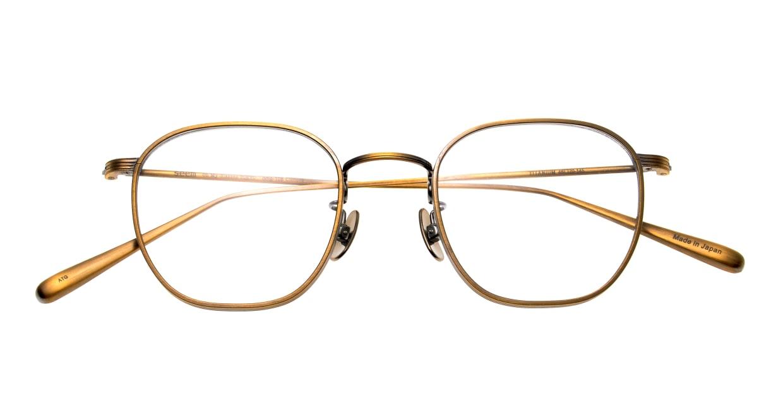 Oh My Glasses TOKYO Clifford omg-108-ATG-46 [メタル/鯖江産/ウェリントン/ゴールド]  4