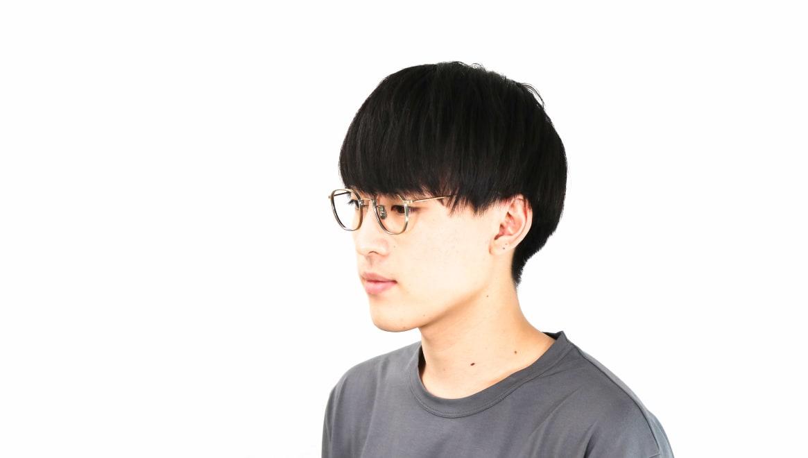 seem Oh My Glasses TOKYO Clifford omg-108-ATG-46 [メタル/鯖江産/ウェリントン/ゴールド]  6