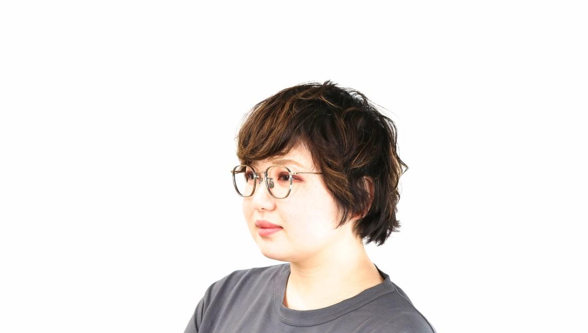 seem Oh My Glasses TOKYO Clifford omg-108-ATG-46 [メタル/鯖江産/ウェリントン/ゴールド]  8
