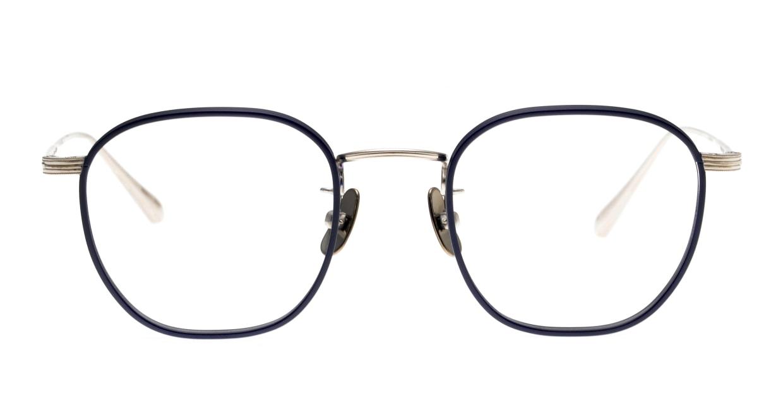 Oh My Glasses TOKYO Clifford omg-108-NV-46 [メタル/鯖江産/ウェリントン/青]