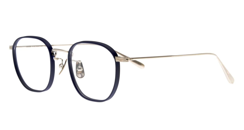 Oh My Glasses TOKYO Clifford omg-108-NV-46 [メタル/鯖江産/ウェリントン/青]  1