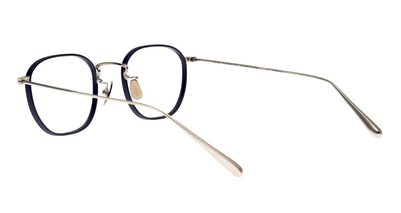 Oh My Glasses TOKYO Clifford omg-108-NV-46 [メタル/鯖江産/ウェリントン/青]  3