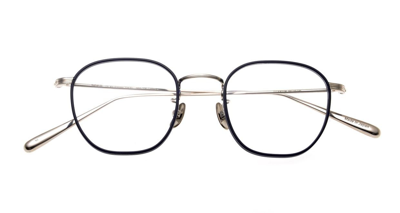 Oh My Glasses TOKYO Clifford omg-108-NV-46 [メタル/鯖江産/ウェリントン/青]  4