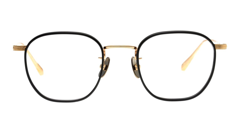 Oh My Glasses TOKYO Clifford omg-108-BK-46 [メタル/鯖江産/ウェリントン]