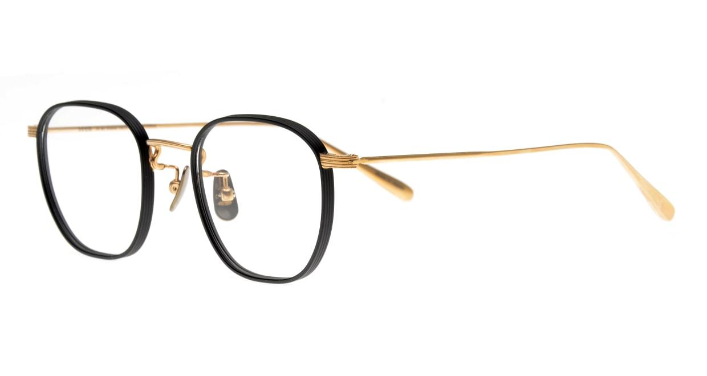 Oh My Glasses TOKYO Clifford omg-108-BK-46 [メタル/鯖江産/ウェリントン]  1