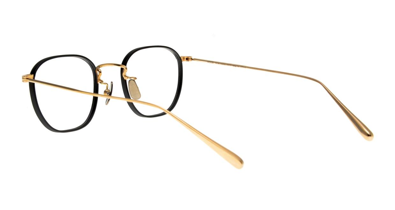 Oh My Glasses TOKYO Clifford omg-108-BK-46 [メタル/鯖江産/ウェリントン]  3