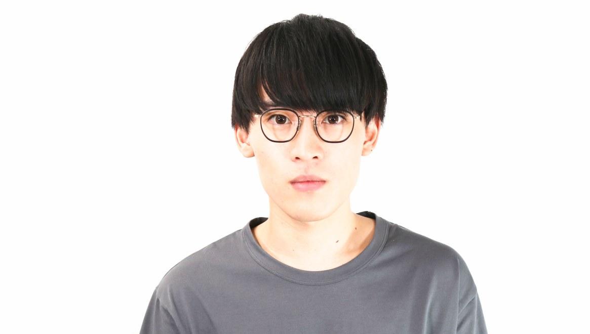 seem Oh My Glasses TOKYO Clifford omg-108-BK-46 [メタル/鯖江産/ウェリントン]  5