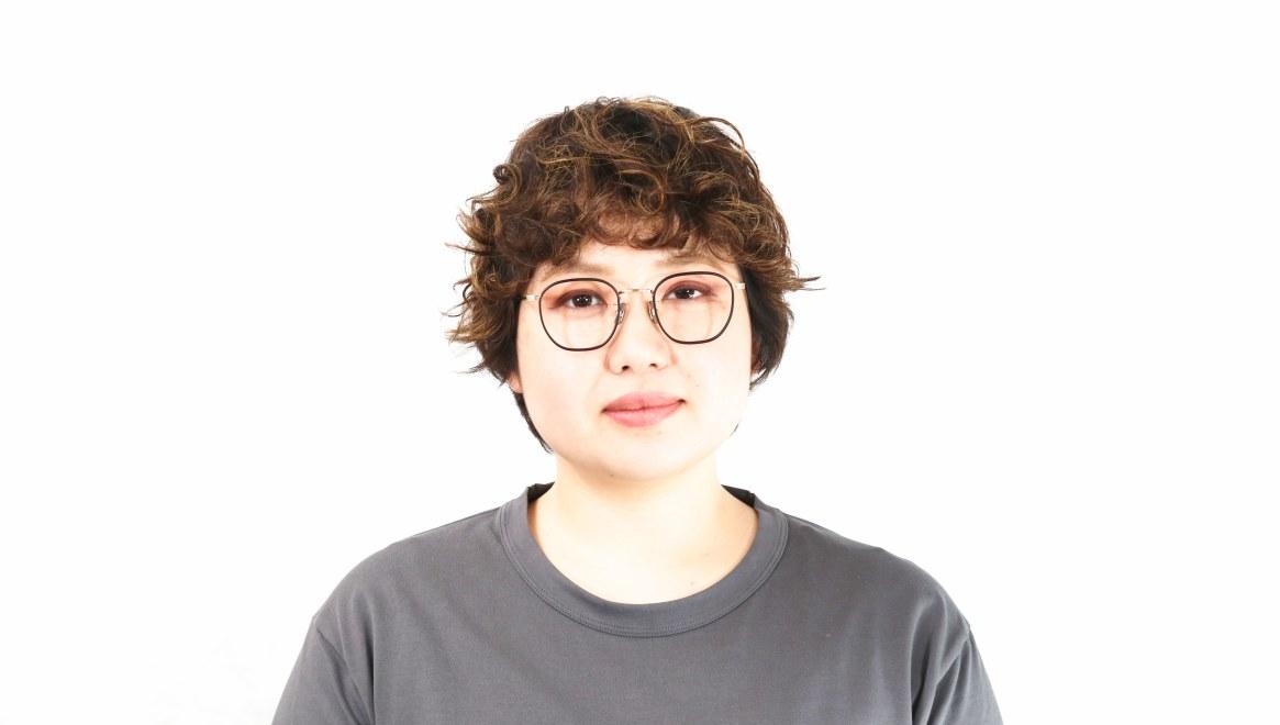 seem Oh My Glasses TOKYO Clifford omg-108-BK-46 [メタル/鯖江産/ウェリントン]  7