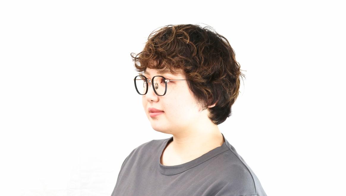 seem Oh My Glasses TOKYO Clifford omg-108-BK-46 [メタル/鯖江産/ウェリントン]  8
