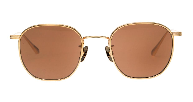 Oh My Glasses TOKYO Clifford omg-108-GD-48-sun [メタル/鯖江産/ウェリントン]