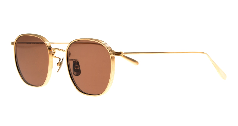 Oh My Glasses TOKYO Clifford omg-108-GD-48-sun [メタル/鯖江産/ウェリントン]  1