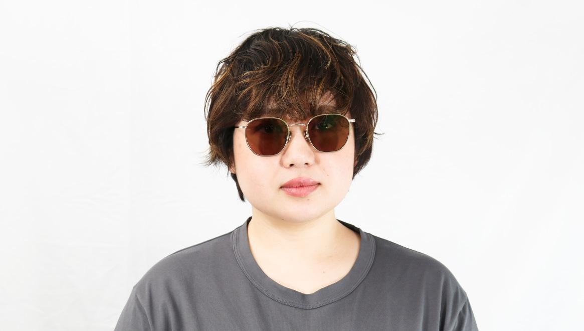 seem Oh My Glasses TOKYO Clifford omg-108-GD-48-sun [メタル/鯖江産/ウェリントン]  7