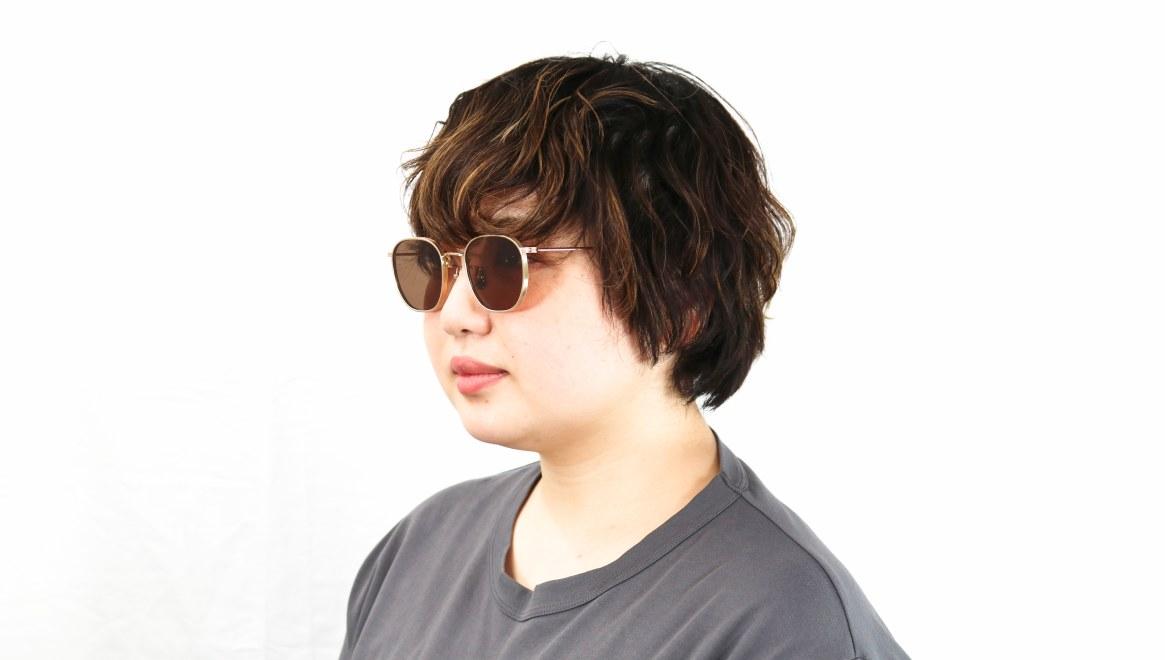 seem Oh My Glasses TOKYO Clifford omg-108-GD-48-sun [メタル/鯖江産/ウェリントン]  8