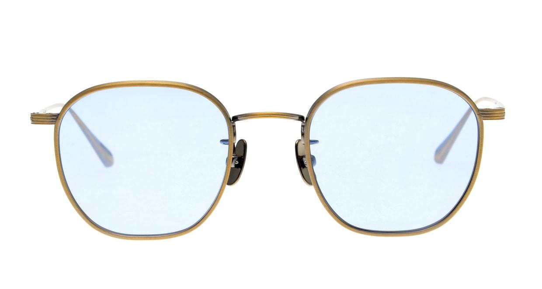 Oh My Glasses TOKYO Clifford omg-108-ATG-48-sun [メタル/鯖江産/ウェリントン]