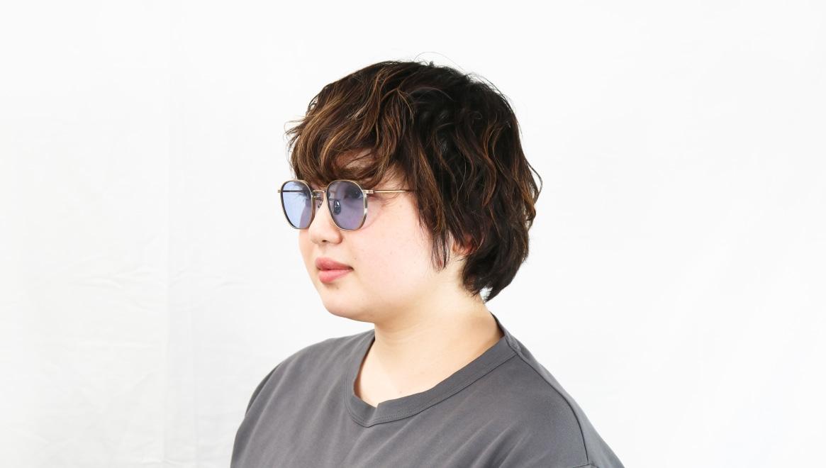 seem Oh My Glasses TOKYO Clifford omg-108-ATG-48-sun [メタル/鯖江産/ウェリントン]  8