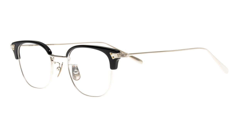 Oh My Glasses TOKYO Roy omg-109-BKS-48 [メタル/鯖江産/ウェリントン]  1