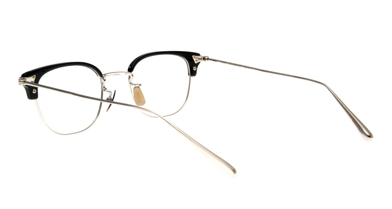 Oh My Glasses TOKYO Roy omg-109-BKS-48 [メタル/鯖江産/ウェリントン]  3