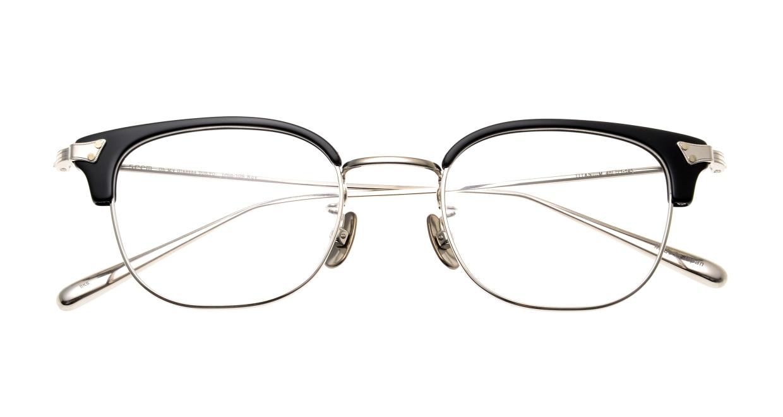 Oh My Glasses TOKYO Roy omg-109-BKS-48 [メタル/鯖江産/ウェリントン]  4